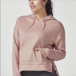Fabletics light pink hoodie S